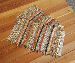 "Kitchen, Bathroom or Door Entry Rug Set - 20"" x 27"" & 20"" x 25""- Burnt Orange"