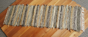 "Kitchen or Hallway Runner Rug - 24"" x 6' 1"" Olive & Taupe"