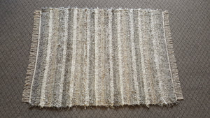 Bedroom, Nursery, Entry Way or Dorm Room Rug - 4' x 5'  Gray & Earthtone