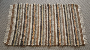"Bedroom, Nursery, Entry Way or Dorm Room Rug - 4' x 6' 5""   Olive & Taupe"