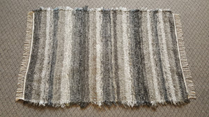 "Bedroom, Nursery, Entry Way or Dorm Room Rug - 4' x 6' 2""  Gray, Silver & Blue Gray"