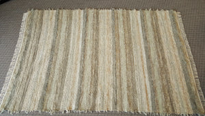 Living Room, Dining Room or Family Room Rug - 6' x 9' Sage & Tan