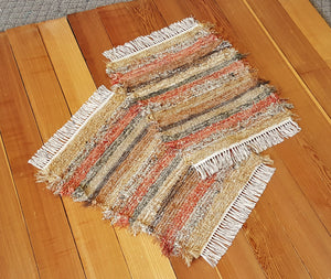 "Bathroom or Kitchen Rug Set - 20"" x 25"" & 20"" x 24"" - Burnt Orange"