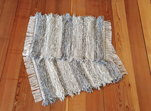 "Bathroom or Kitchen Rug Set - 20"" x 25"" & 20"" x 25"" - Gray, Tan & Oatmeal"