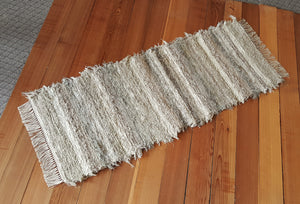 "Kitchen or Hallway Runner Rug - 24"" x 61"" Sage & Tan"