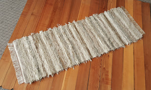 "Kitchen or Hallway Runner Rug - 24"" x 67"" Sage & Tan"