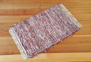 "Kitchen, Bathroom, Bedroom or Door Entry Rug - 24"" x 37"" Paprika & Gray"
