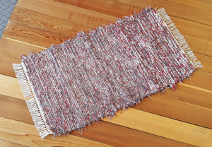 "Kitchen, Bathroom, Bedroom or Door Entry Rug - 24"" x 44"" Paprika & Gray"