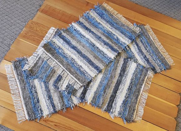 Kitchen Runner &  Medium Rug Set - 24