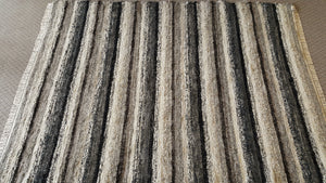 "Living Room, Dining Room or Family Room Rug - 8' x 9'  10"" Black, Gray, Tan & Oatmeal"