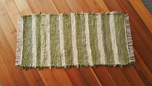 "Kitchen, Bathroom, Bedroom or Door Entry Rug - 24"" x 48"" Celery Green"