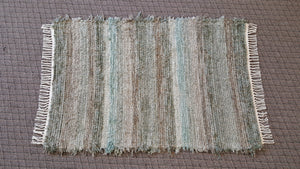 "Entry Way, Bedroom, Nursery or Dorm Room Rug - 36"" x 54"" Aqua"