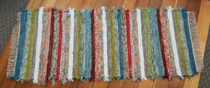 "Kitchen, Bathroom or Hallway Runner Rug - 28"" x 69"" Confetti"