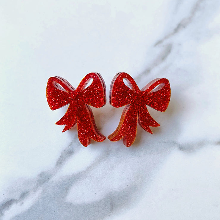 Christmas 2020 - Little Red Bow Studs