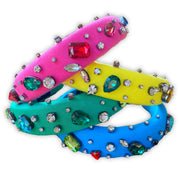 Crystal Confetti Headbands (4 Colors)