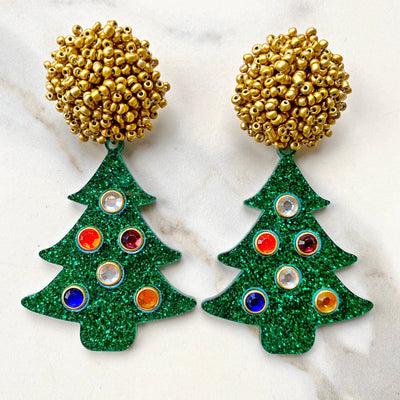 Christmas Party - Oh Christmas Tree Earrings