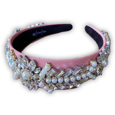 Pink Royal Bling Headband