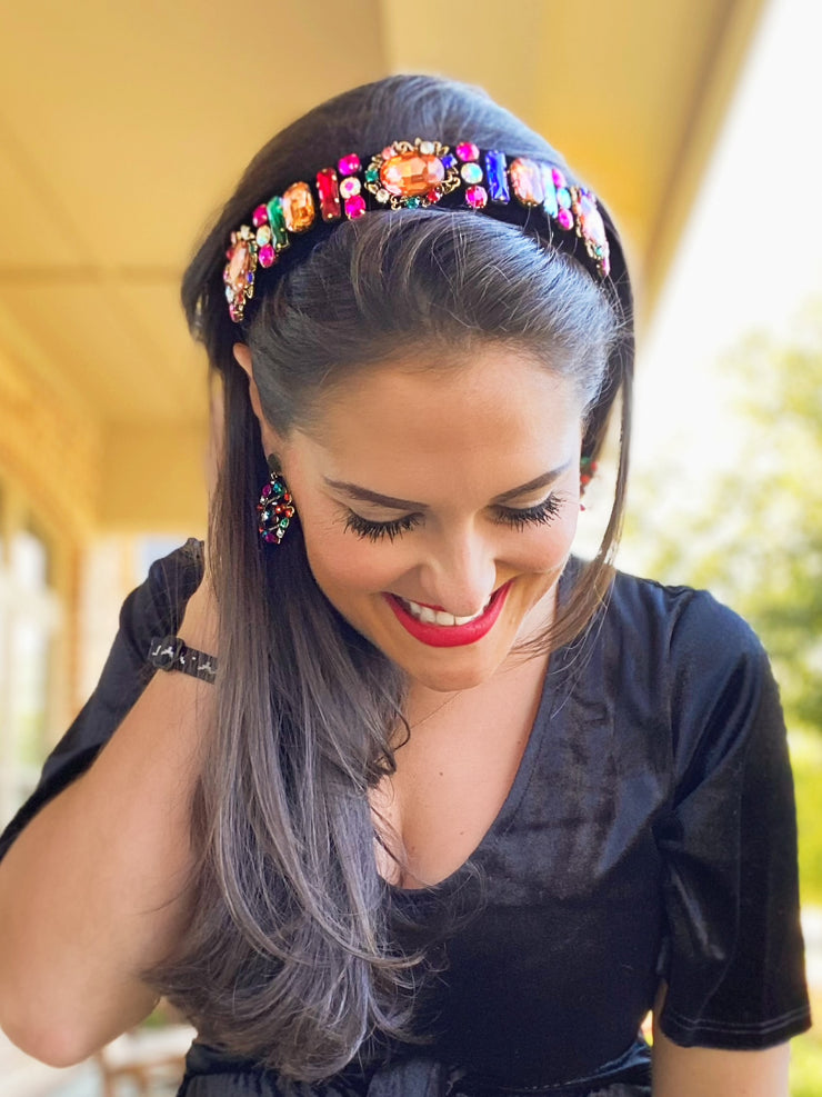 Jewel Tone Party Headband