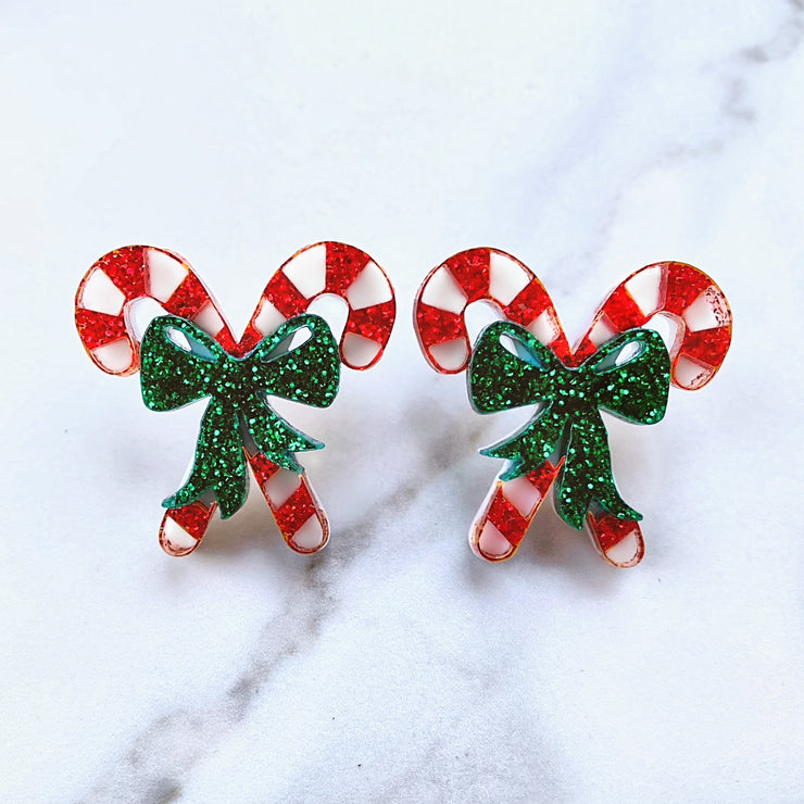Christmas 2020 - Candy Cane Studs