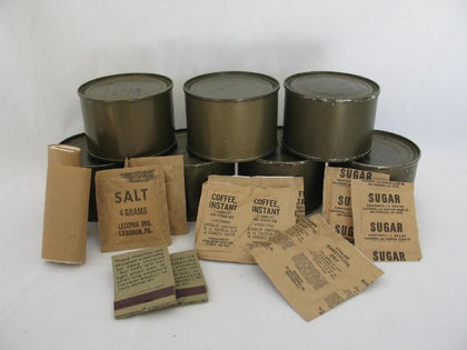 Vintage MREs and Rations