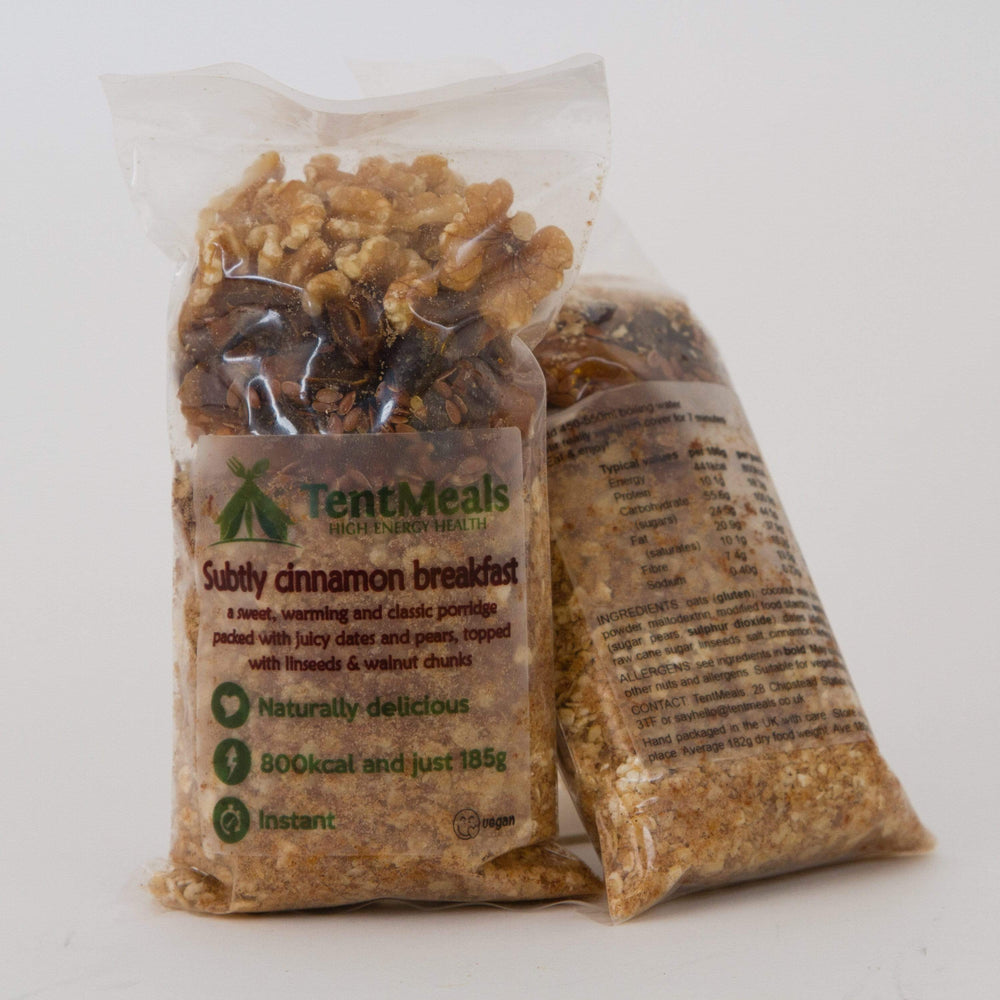 TentMeals HIgh Energy Health Instant Meals