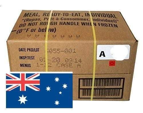 USA Meal Ready To Eat MRE Full Case of 12