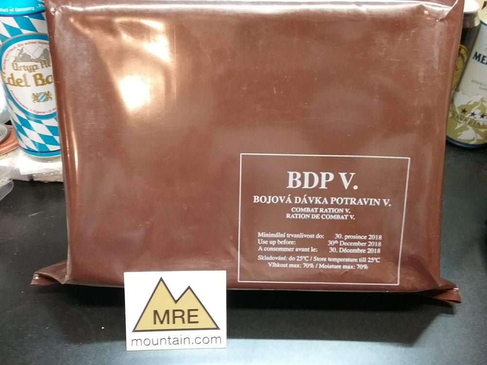 Czech Armed Forces BDP 24 hour combat ration pack MRE