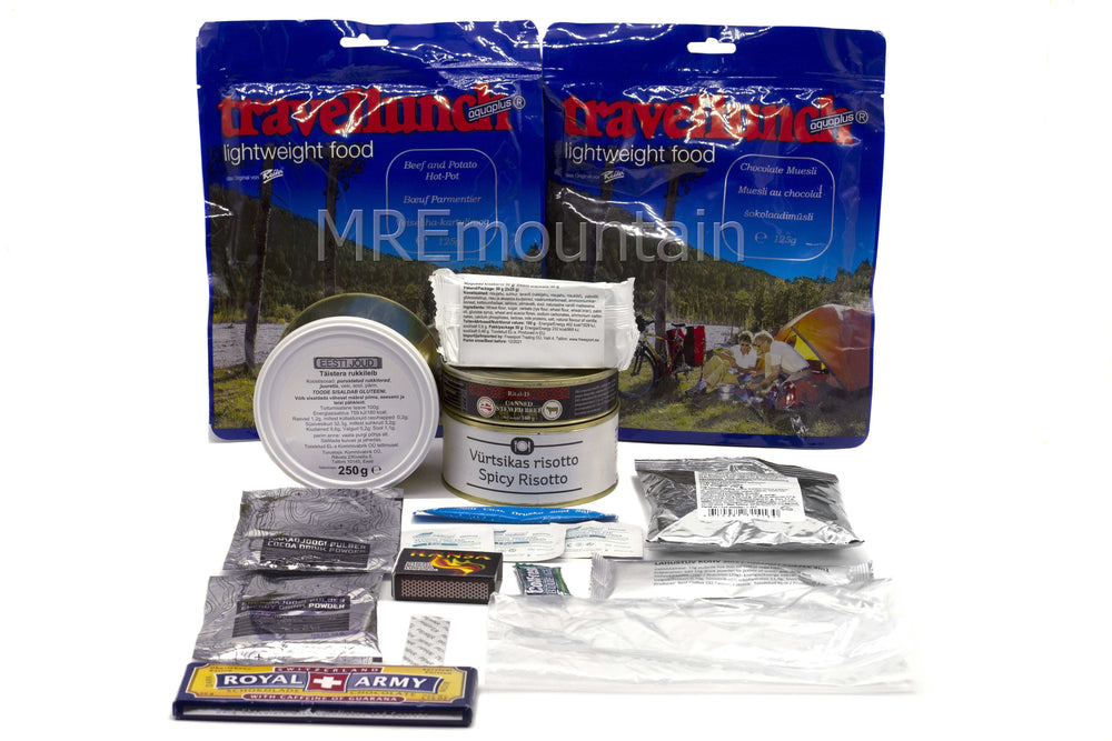 Estland 24-timmars Combat Ration Pack
