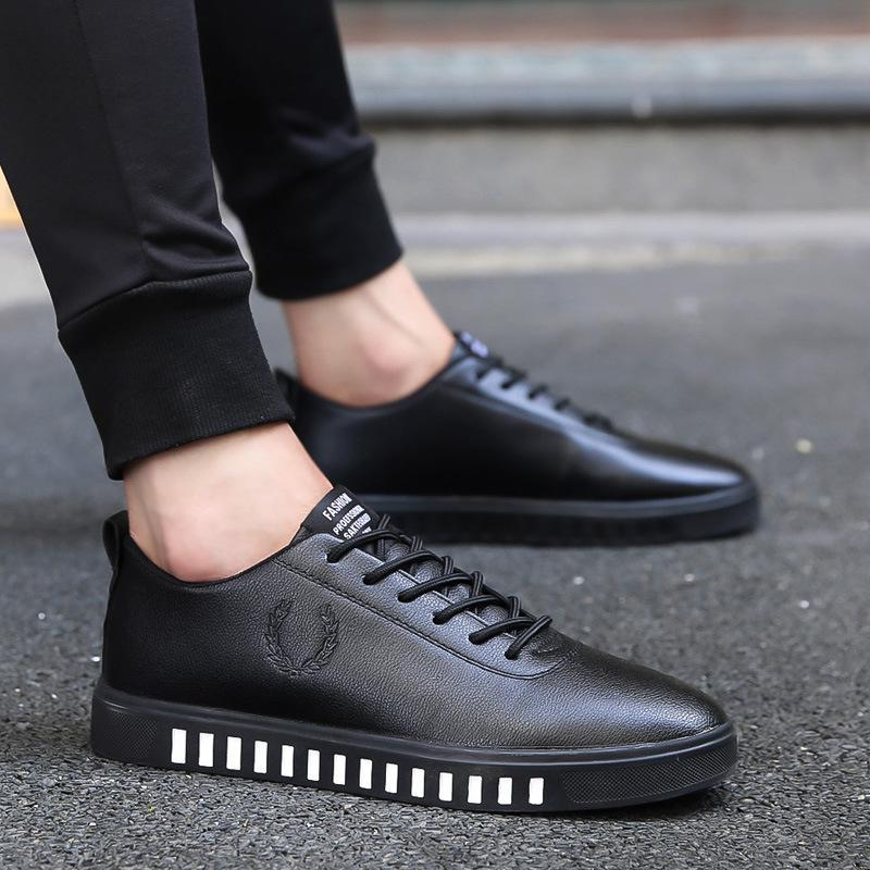 Low Boots Men Fashion Shoes Solid Casual Outdoor Breathable Sport Men's Flats High Quality Light