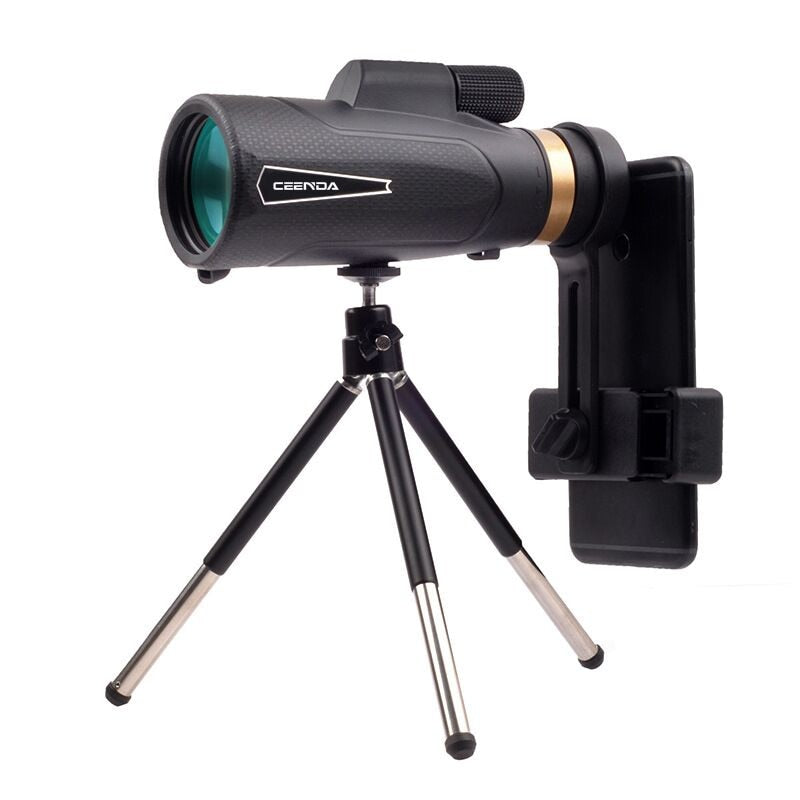 18X62 Monocular Telescope With Mobile Phone Clip And Tripod Monocular HD High Magnification Night Vision Mini Telescope