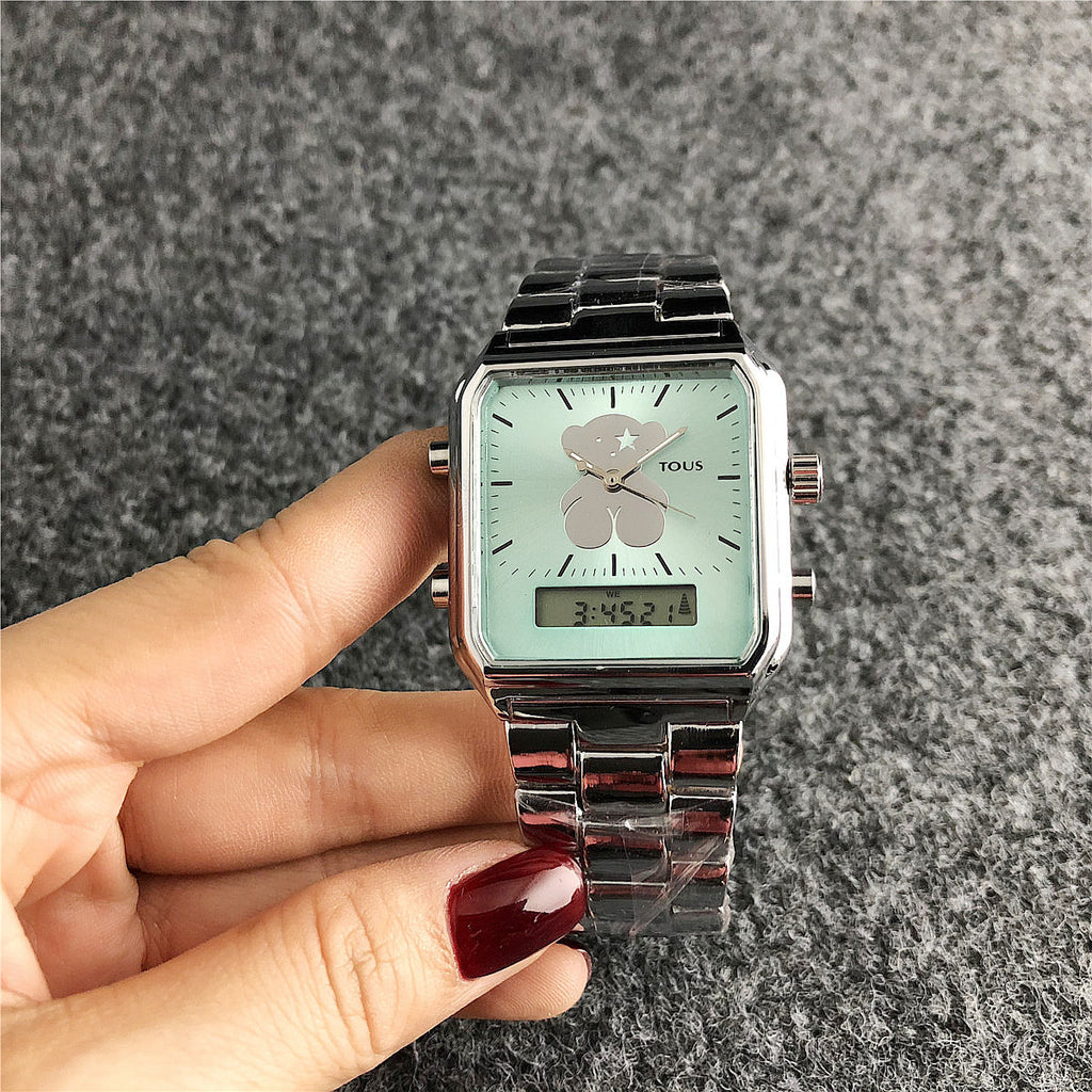 Women Classic Bear Luxury Sport Quartz Wristwatches