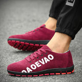 Men's Fashion Sports Shoes Breathable Canvas Shoes Outdoor Driving Shoes