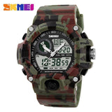 Mens Outdoor Sport Watch 5 ATM Waterproof  Watch Luxury Military Watches