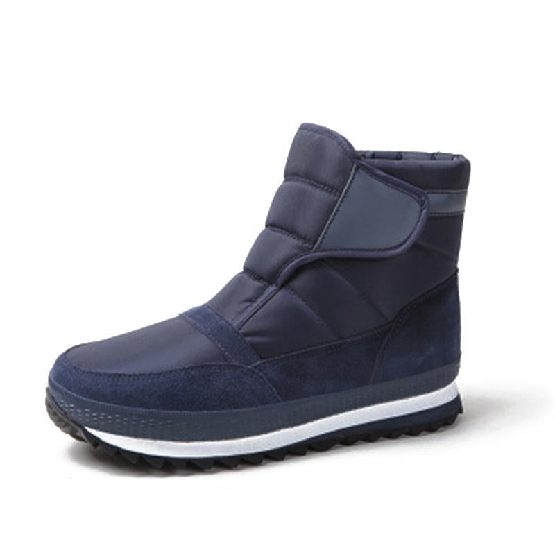 Men's Winter High-leg Platform Waterproof Snow Boots Men's Shoes