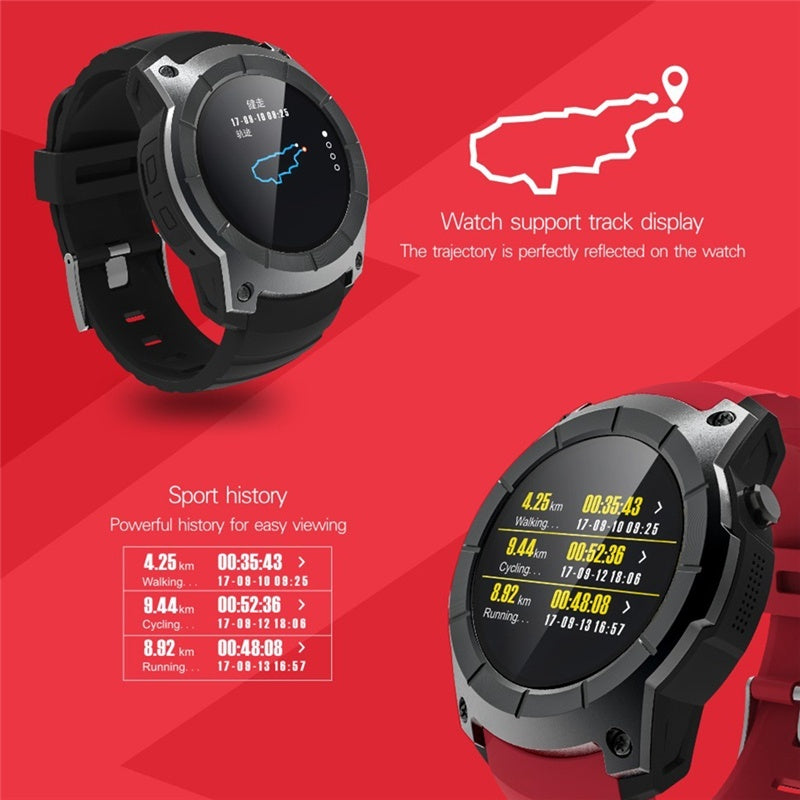 S958 Compatible with Android IOS Phones Smart Watch Sports Waterproof Heart Rate Monitor