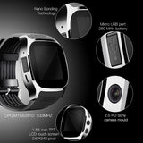T8 Bluetooth Smart Watch With Camera Music Player Facebook Whatsapp Sync SMS Smartwatch