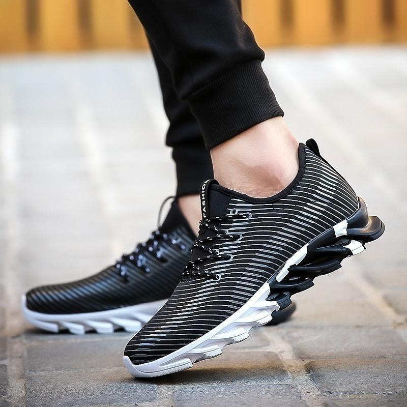 Mens Fashion Leisure Lace Up Sports Shoes  Piano Student Board  Running Sneakers Men's Shoes