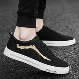 Men Canvas Shoes Casual Version Of Cloth Sports Low Tide Shoes. Flats Fashion Men's Outdoor