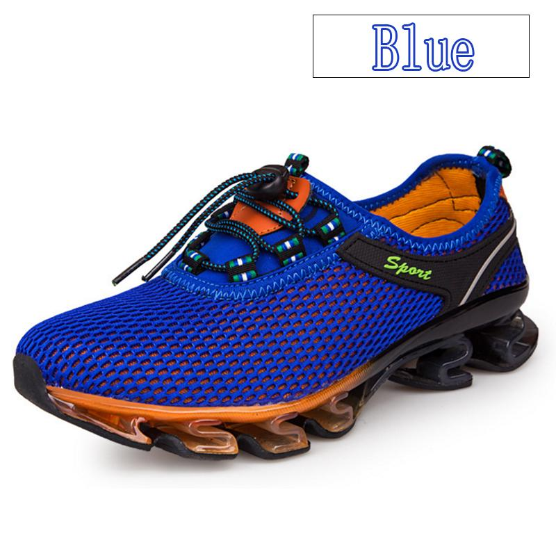 DEKO Men's Casual Fashion Blade Warrior Sports Mesh Breathable Running Shoes ( Size: 36-48 ) Men's Shoes
