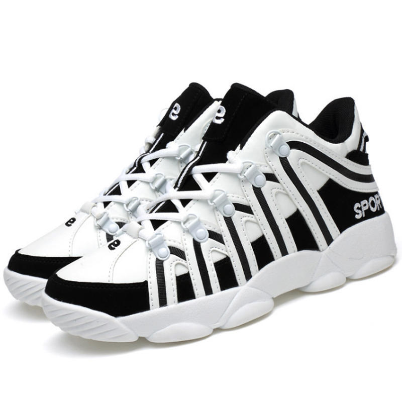 Men  Fashion Sport Shoes Trainers Fashion HighTop  Plug Size Sport Shoes Breathable Shoes