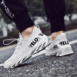 Lightweight breathable sneakers men's running shoes outdoor men's casual sports shoes size (39-47)