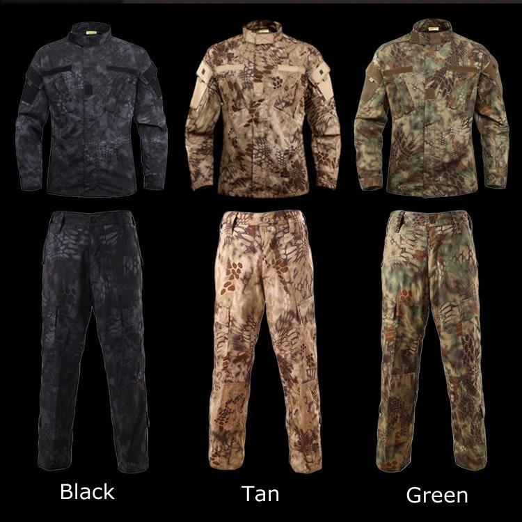 Tactical Us Ru Army Camouflage Combat Uniform Men Bdu Multicam Camo Military Uniform