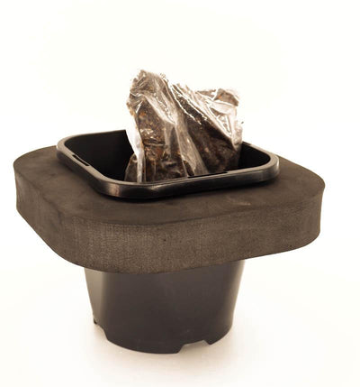 Pond Plant Repotting Kit includes soil and 12cm pot and ring