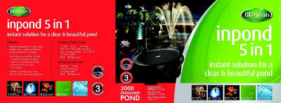 Blagdon Inpond 5 in 1 Pond Multi Filter 3000