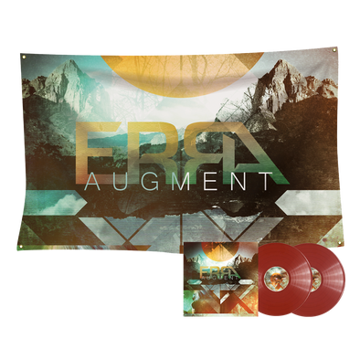 ERRA - Augment Crimson 2LP Vinyl + Flag Bundle