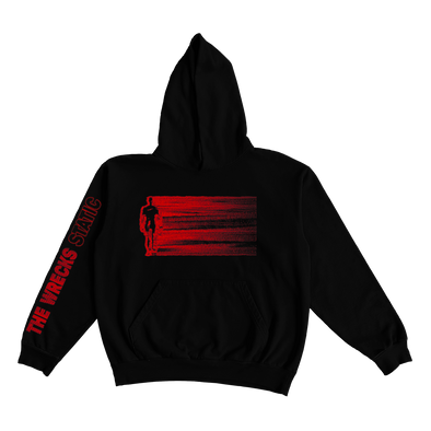 The Wrecks - Black Static Hoodie