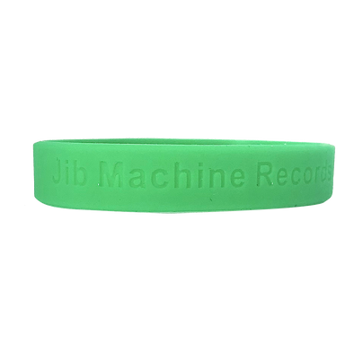 Jib Machine Records Wrist Band