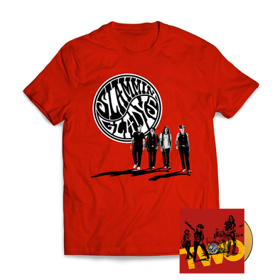 Slammin' Gladys -  CD & T Shirt Of Your Choice Bundle