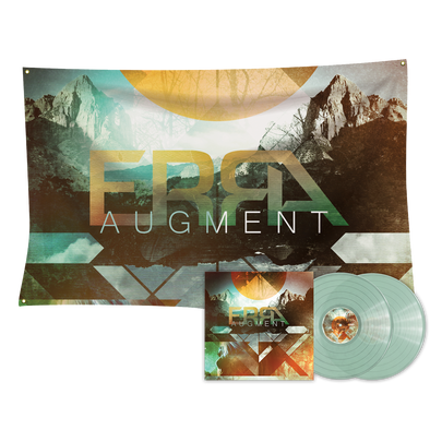 ERRA - Augment Coke Bottle Clear 2LP Vinyl + Flag Bundle