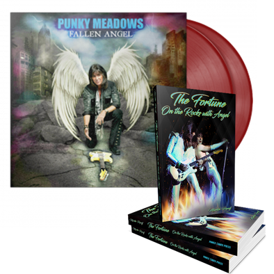 "Punky Meadows ""Fallen Angel"" 2XLP Red + The Fortune: On the Rocks with Angel (JUST RELEASED)"